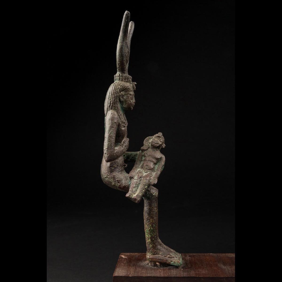 Photo of isis-lactans-egypt-xxvi-dynasty-galerie-golconda