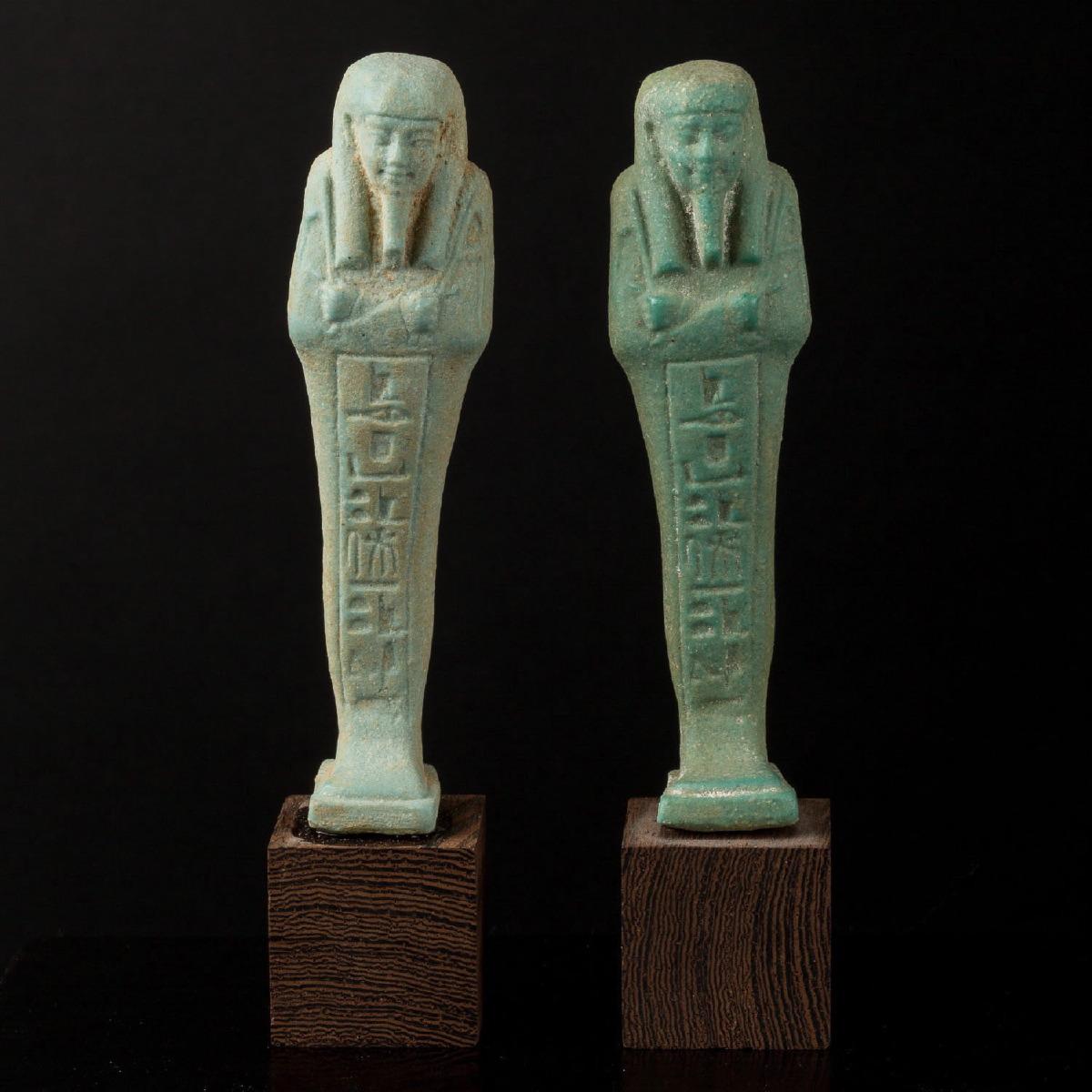 Photo of a-pair-of-ushebti-saite-period-664-525-bc