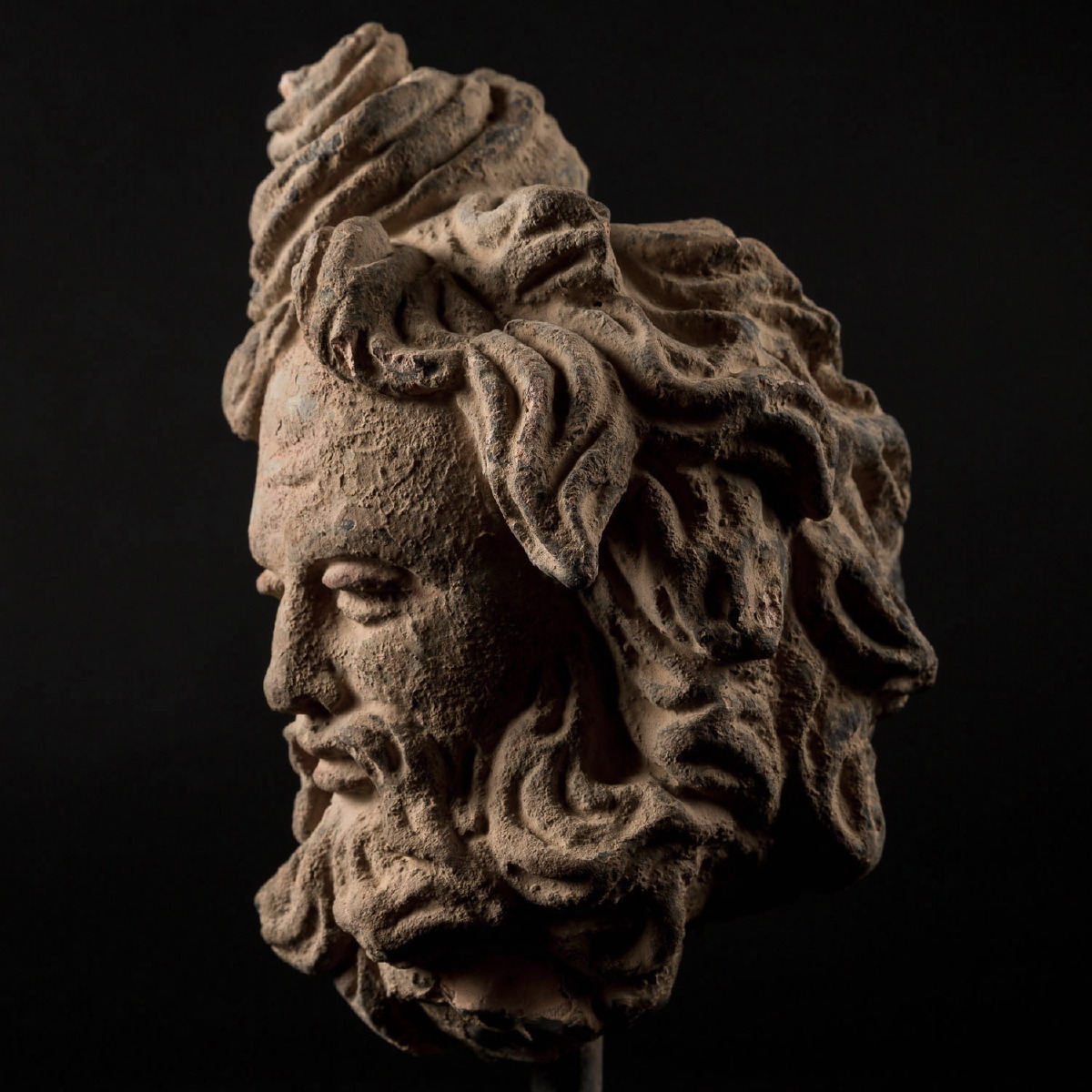 Photo of EXCELLENT ATTENDANT'S HEAD GRECO-BUDDHIST