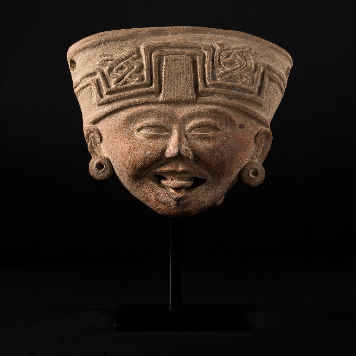 Photo of smiling-head-mexico-veracruz-musee-jcques-chirac-galerie-golconda