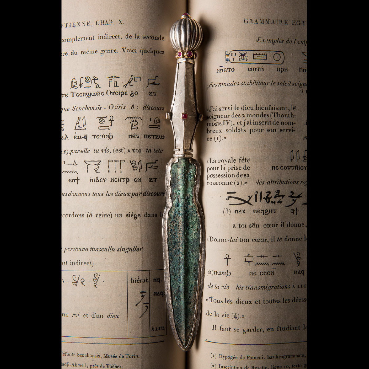 Photo of LETTER OPENER WITH ANCIENT LURISTAN DAGGER