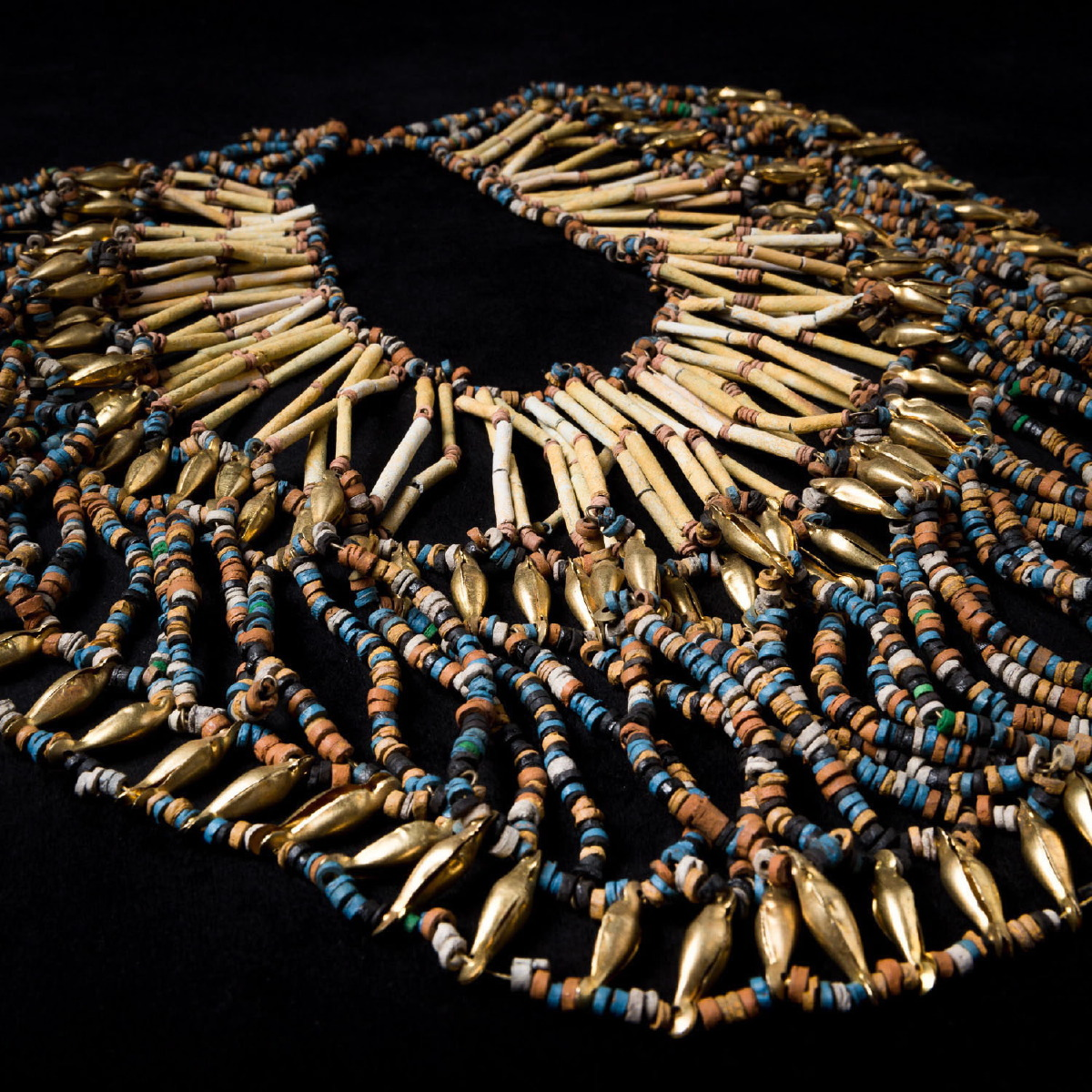 Photo of EGYPTIAN MUMMY NECKLACE WITH PEARLS
