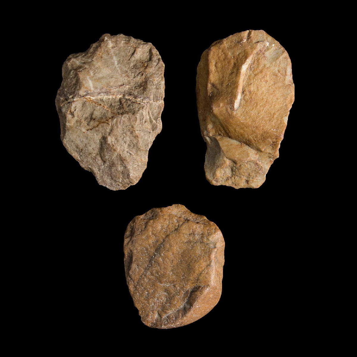 Photo ofGROUP OF STONES SPANISH PALEOLITHIC