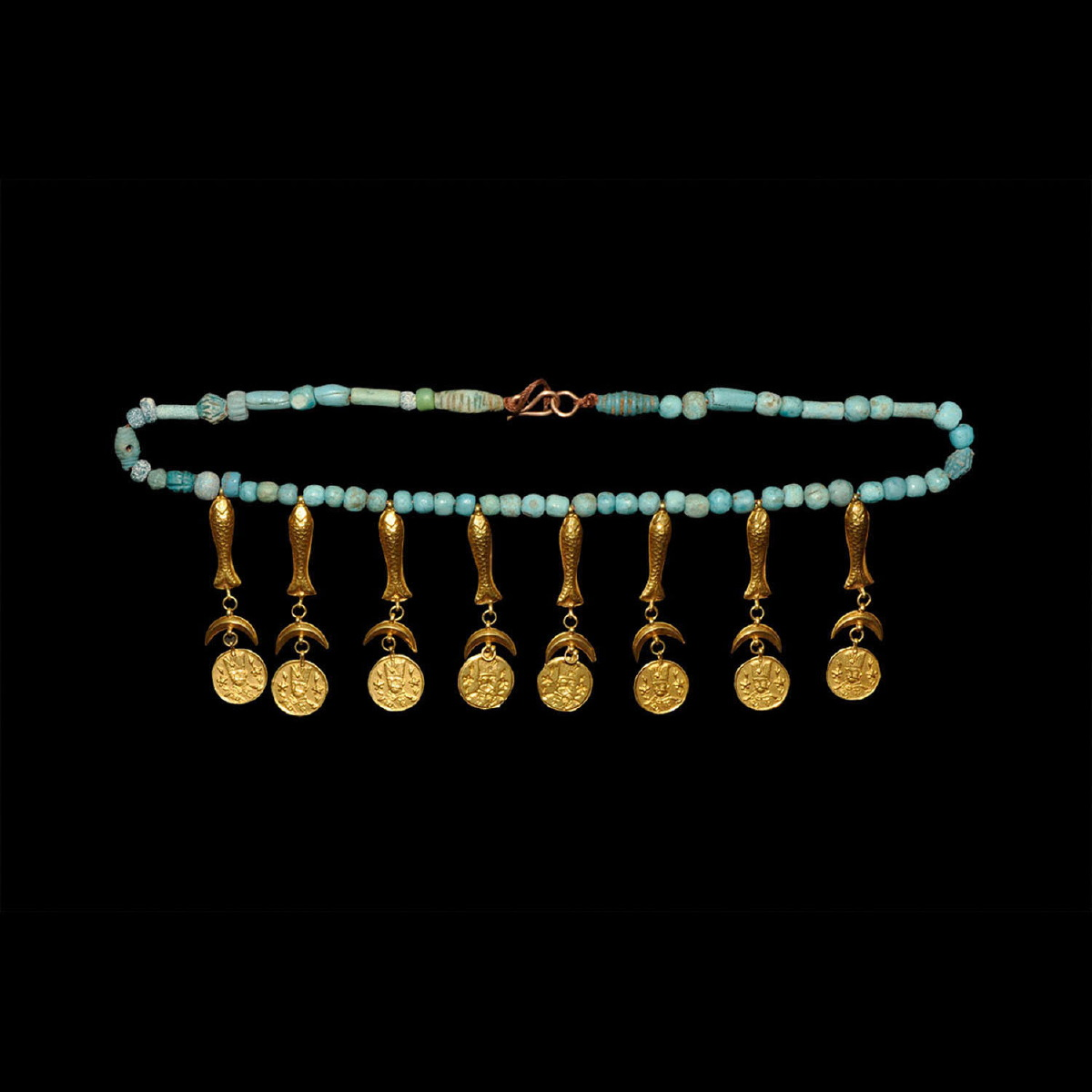 Photo of necklace-gold-and-turquoise
