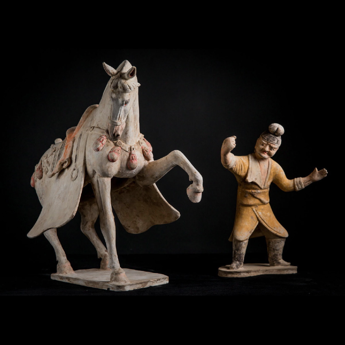 Photo of CENTRAL ASIA GROOM WITH HIS HORSE
