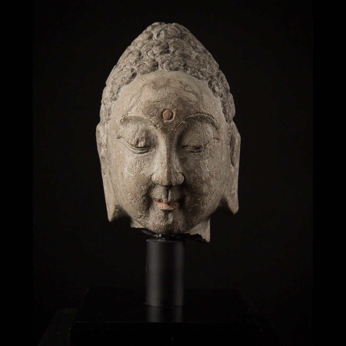 Photo ofSUI DYNASTY STONE HEAD OF BUDDHA