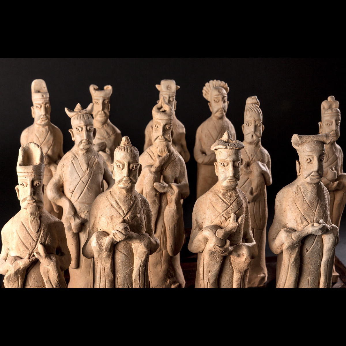 Photo of SET OF 12 DIGNITARIES SYMBOLISING THE CHINESE HOROSCOPE
