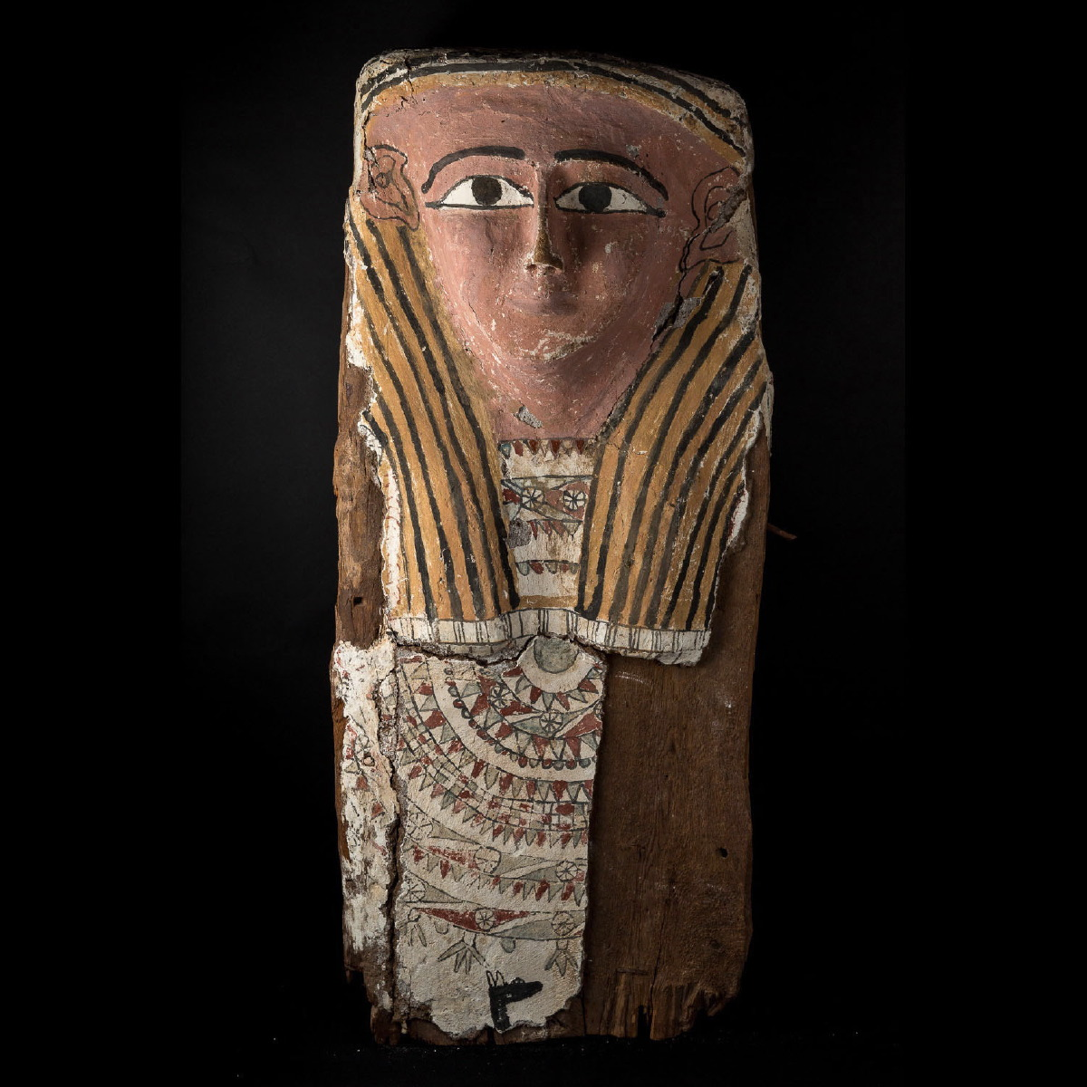 Photo of SARCOPHAGUS LID IN WOOD