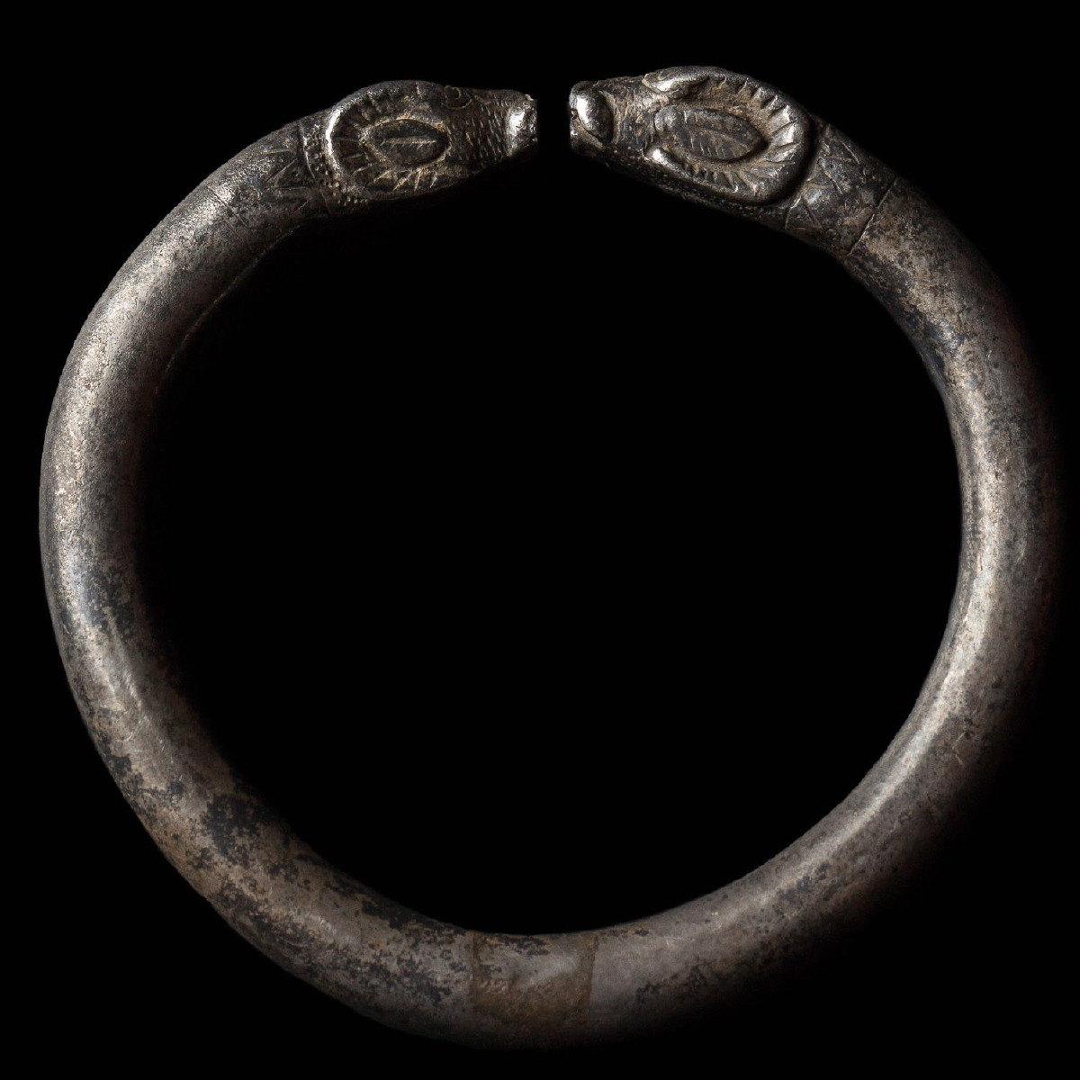 Photo ofANCIENT GREEK BRACELET WITH RAM HEADS