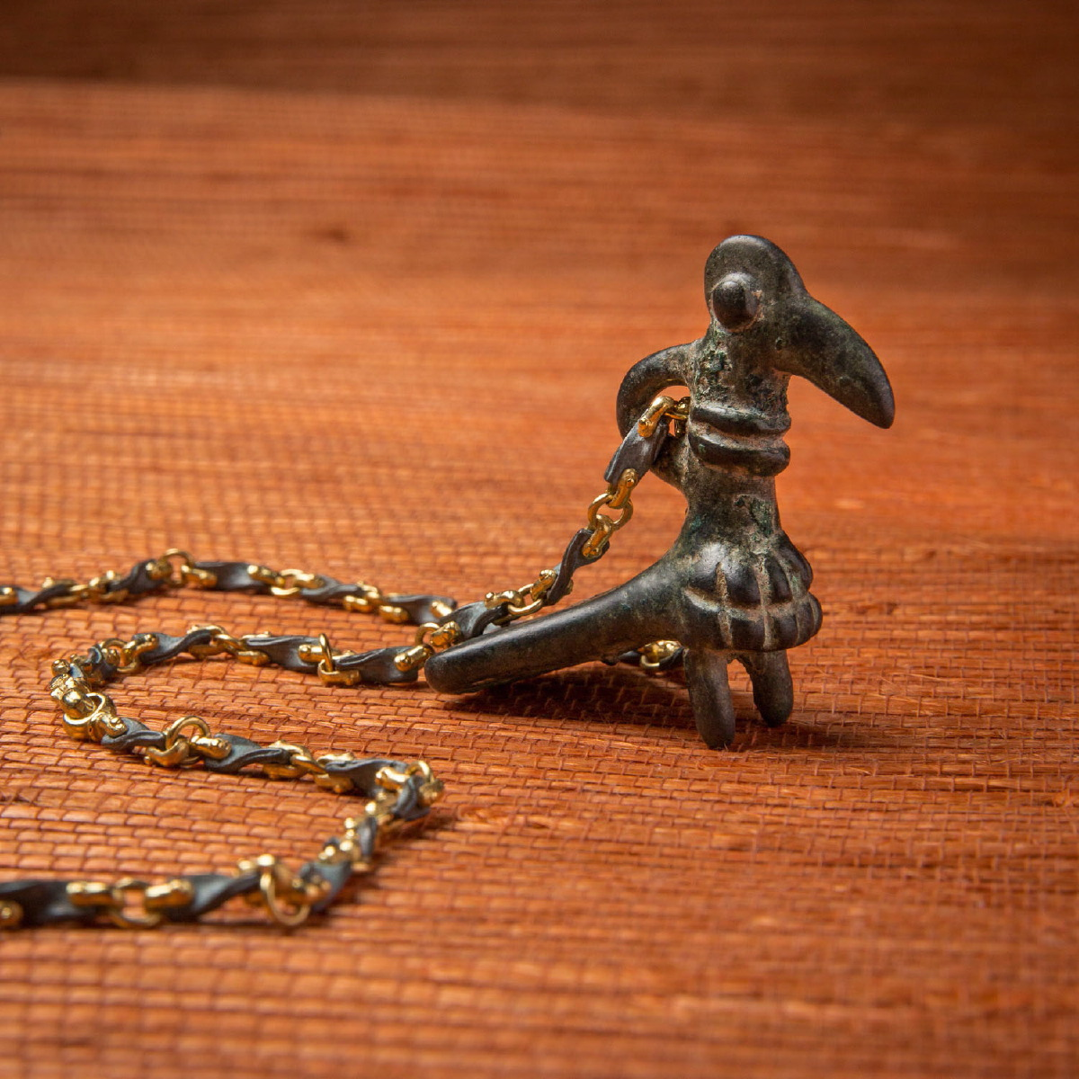 Photo ofLURISTAN BRONZE BIRD PENDANT