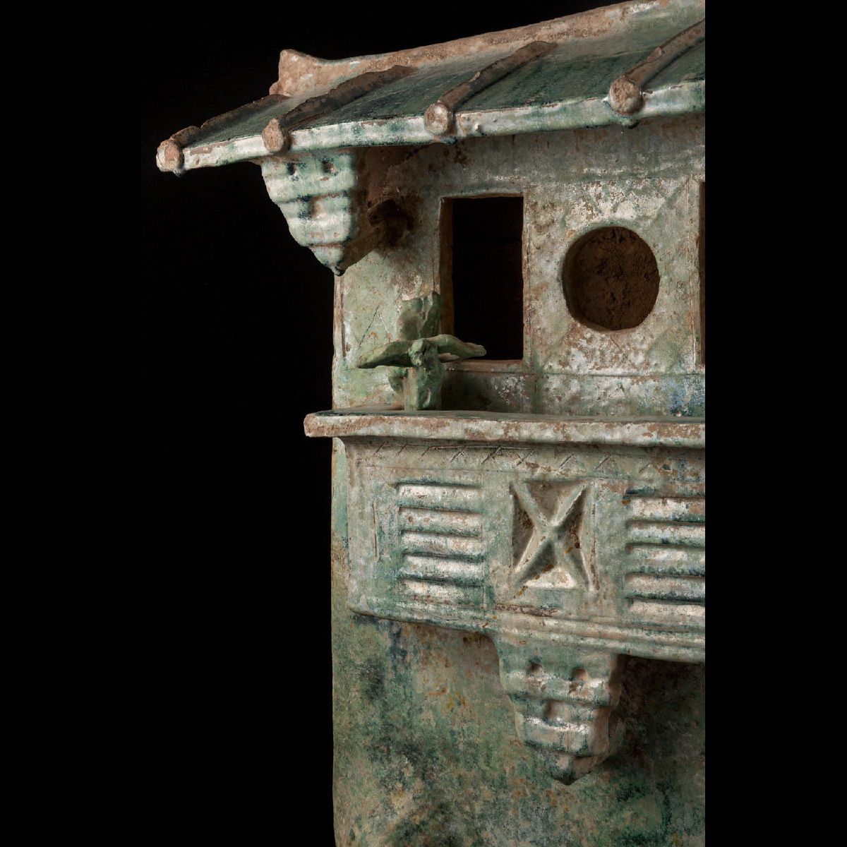 Photo of a-rare-watchtower-green-glazed-han-period