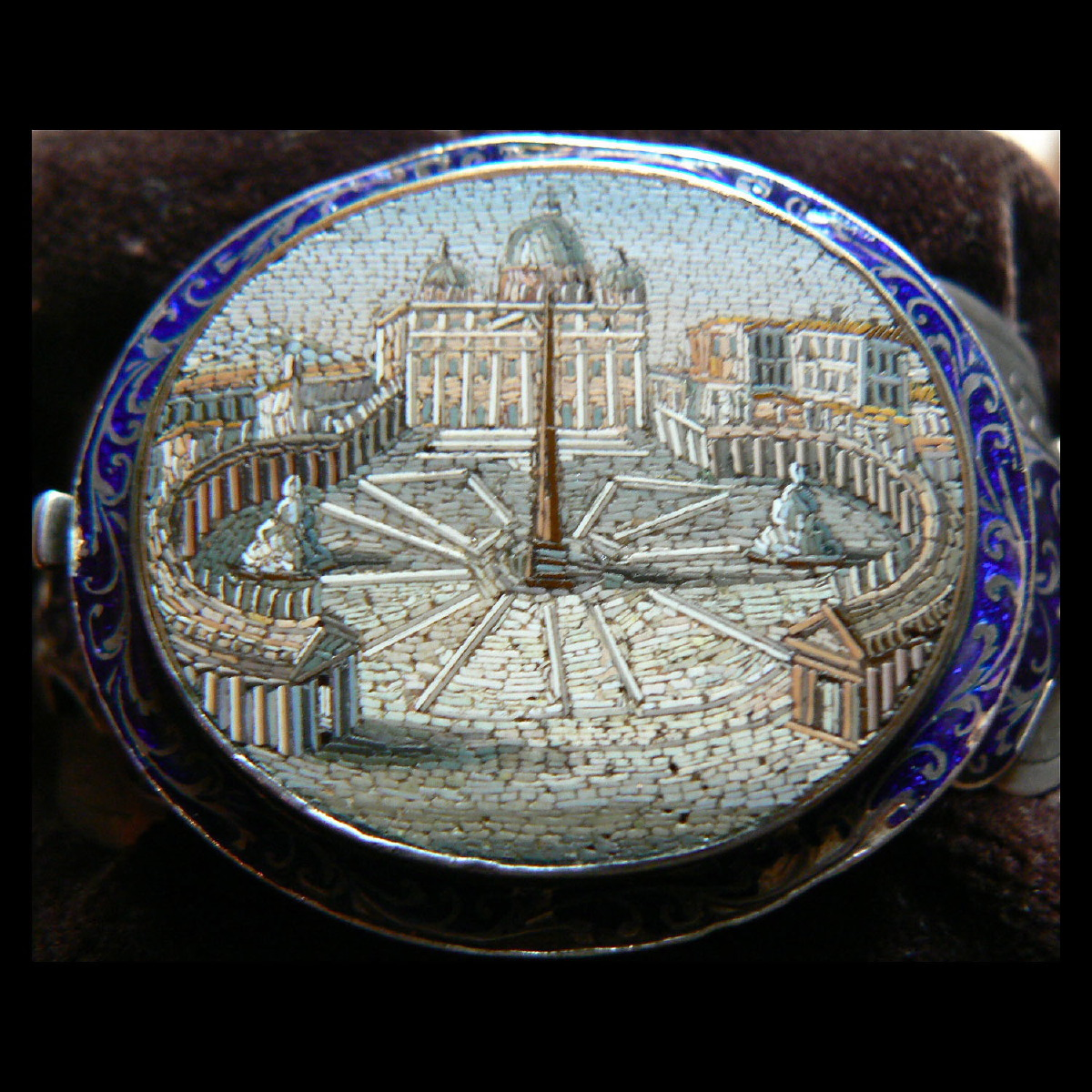 Photo ofITALIAN 19 Th cent. MICRO MOSAIC BANGLE