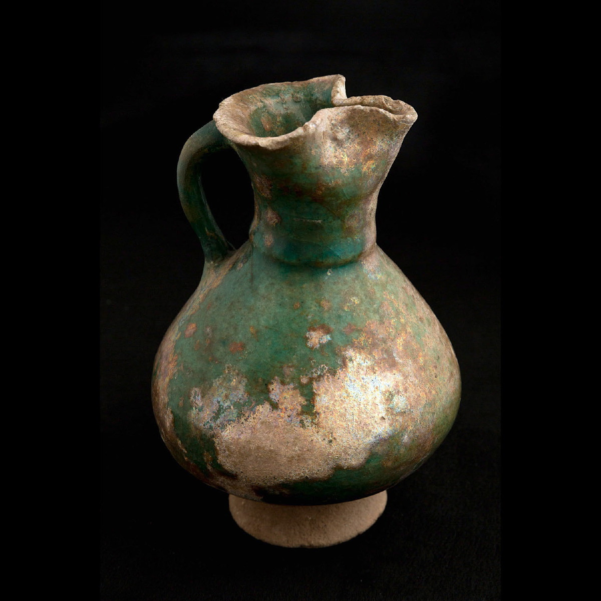 Photo ofSMALL GLAZED VASE FROM GURGAN