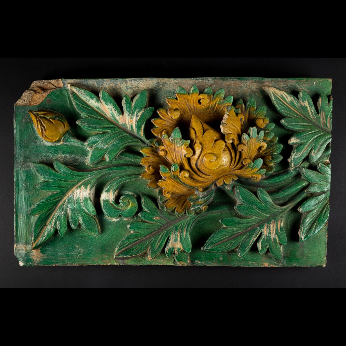 Photo of ming-bricks-floral-galerie-golconda-archeology