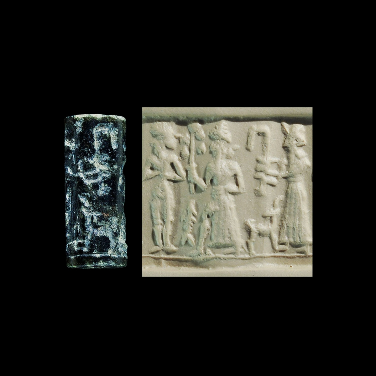 Photo ofCYLINDER SEAL OF AMURRU GOD