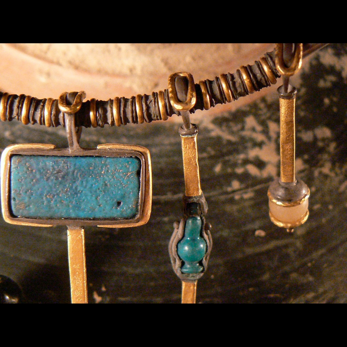 Photo of ancient-egypt-amulets-necklace