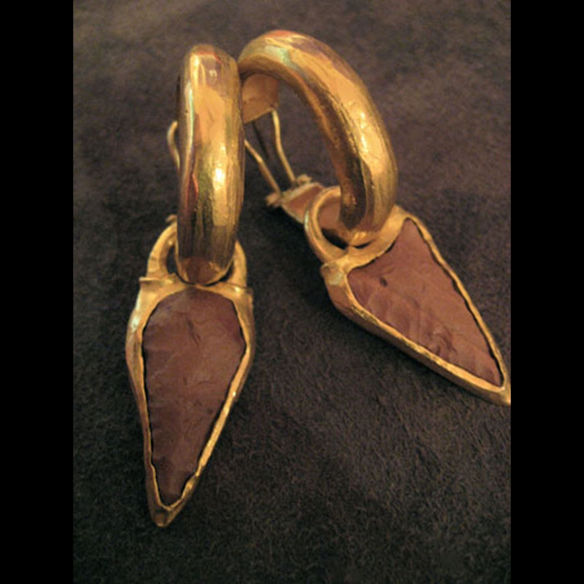 Photo ofNEOLITHIC ARROW EARRINGS FROM MAURITANIA
