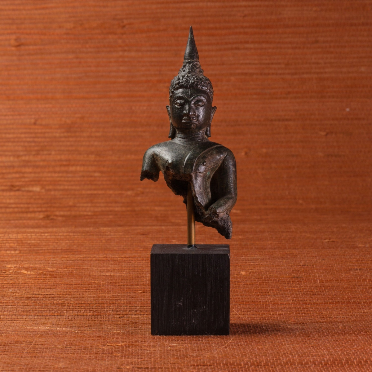Photo ofSTATUETTE BUST OF BUDDHA AYUTTHAYA