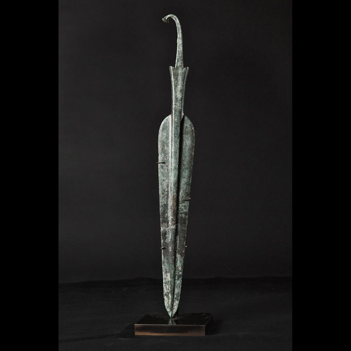 Photo ofBRONZE SPEARHEAD FROM LURISTAN