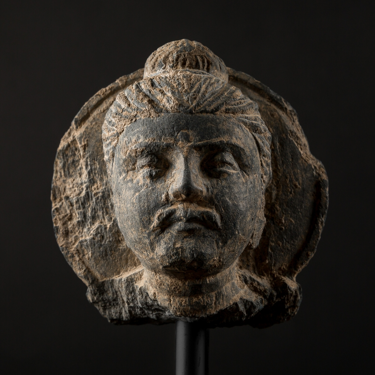 Photo of HALOED HEAD OF BUDDHA