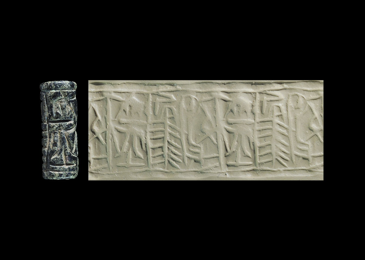 Photo ofCYLINDER SEAL FROM CYPRUS