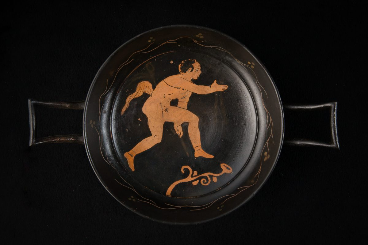 Photo of RED AND BLACK KYLIX