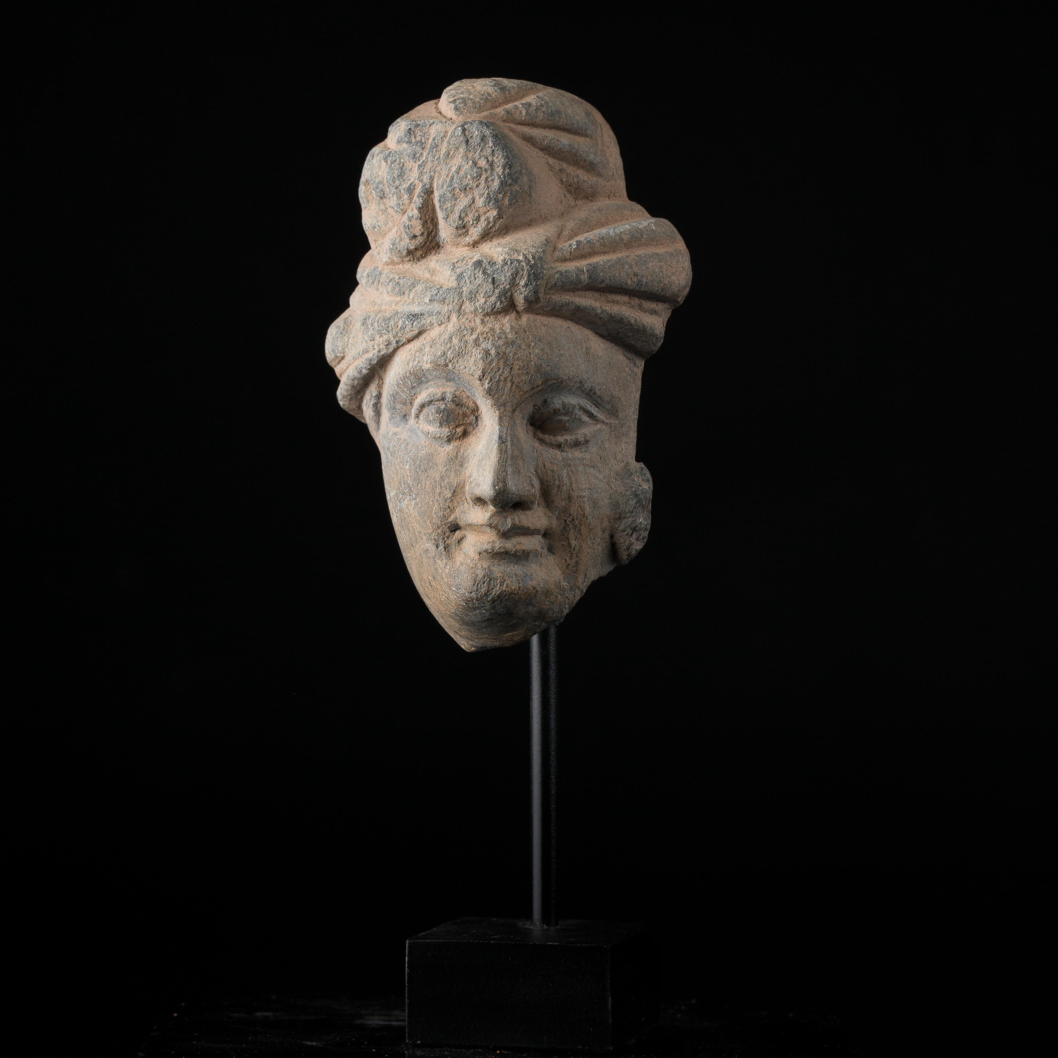 Photo ofHEAD OF A PRINCE FROM GANDHARA