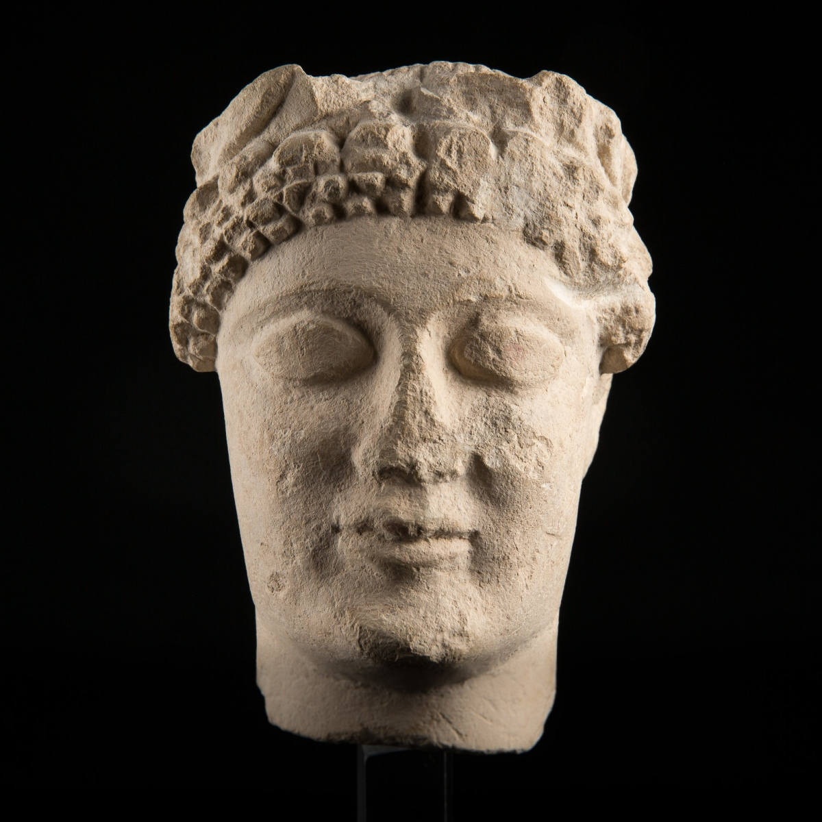 Photo of boston-fine-art-museum-chyprus-votive-head-collcetion-of-general-de-cesnola-galerie-golconda