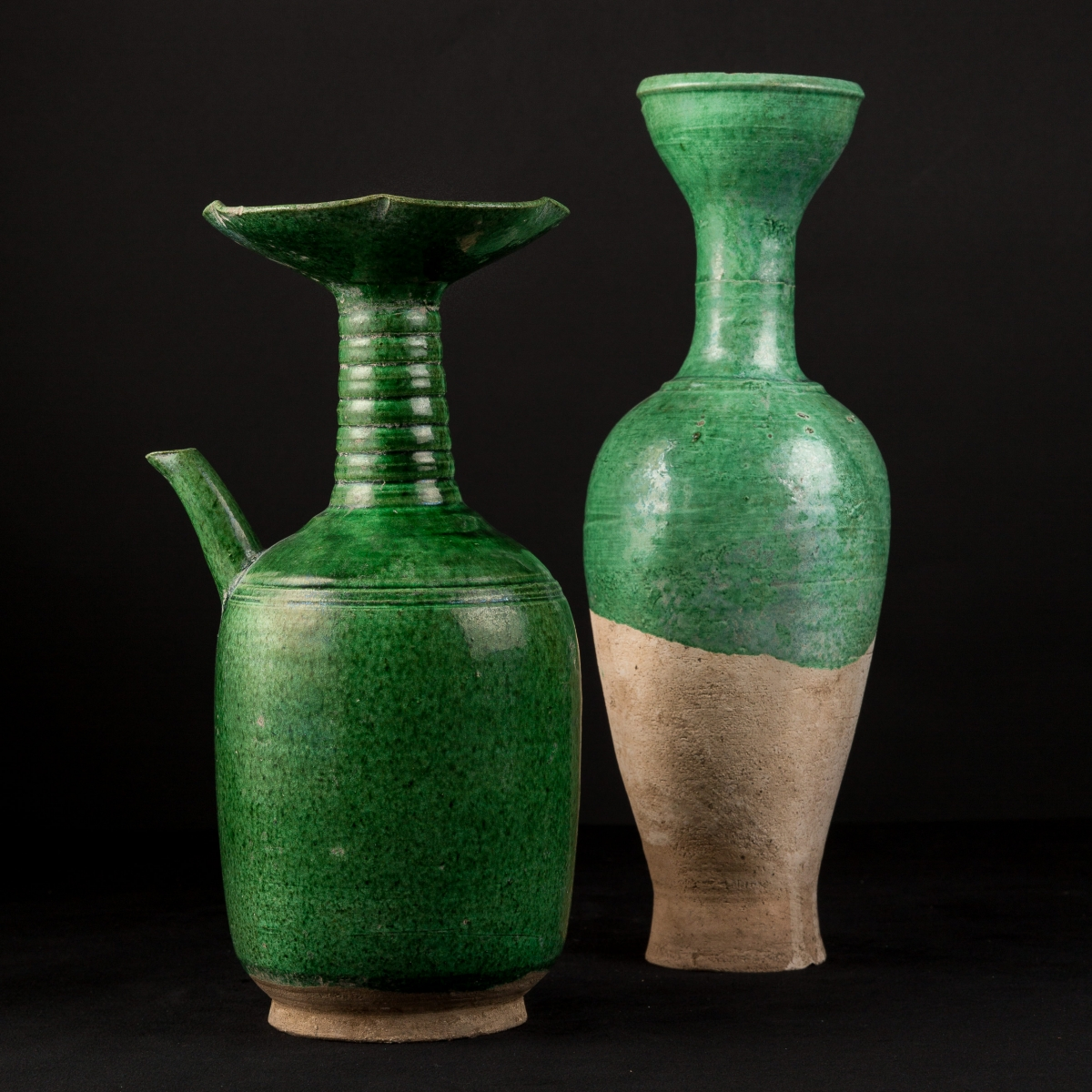 Photo of LIAO VASE WITH GREEN GLAZE