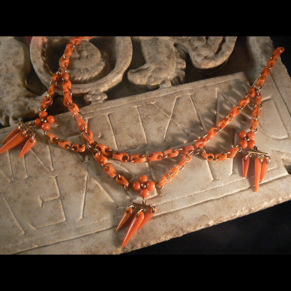 Photo of a-rare-coral-necklace