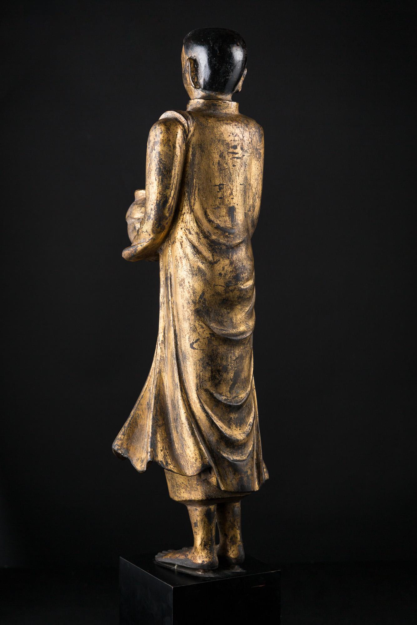 Photo of burma-mogalana-mandalay-kingdom-buddhist-attendant