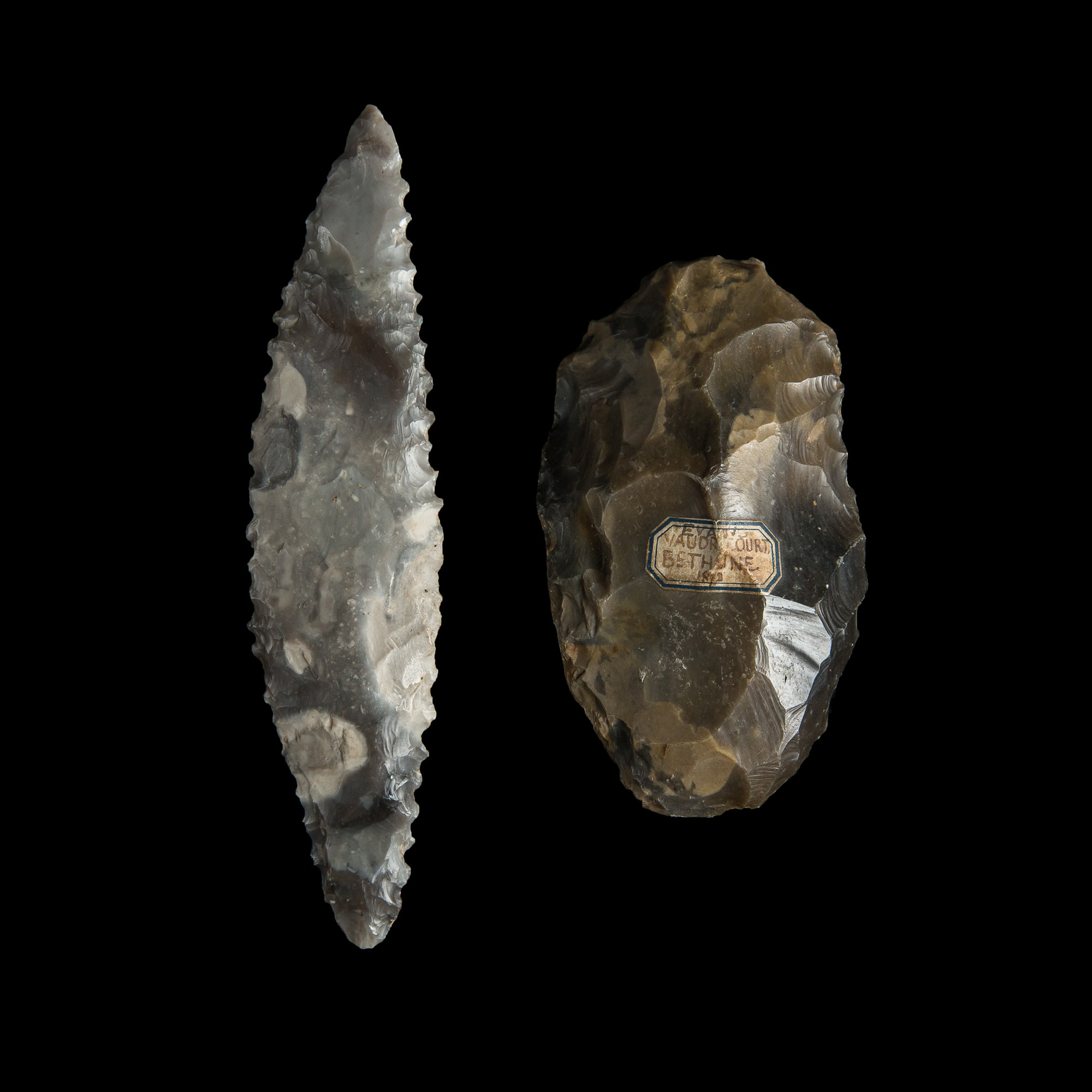 Photo of stone-age-knapped-sickle-denmark