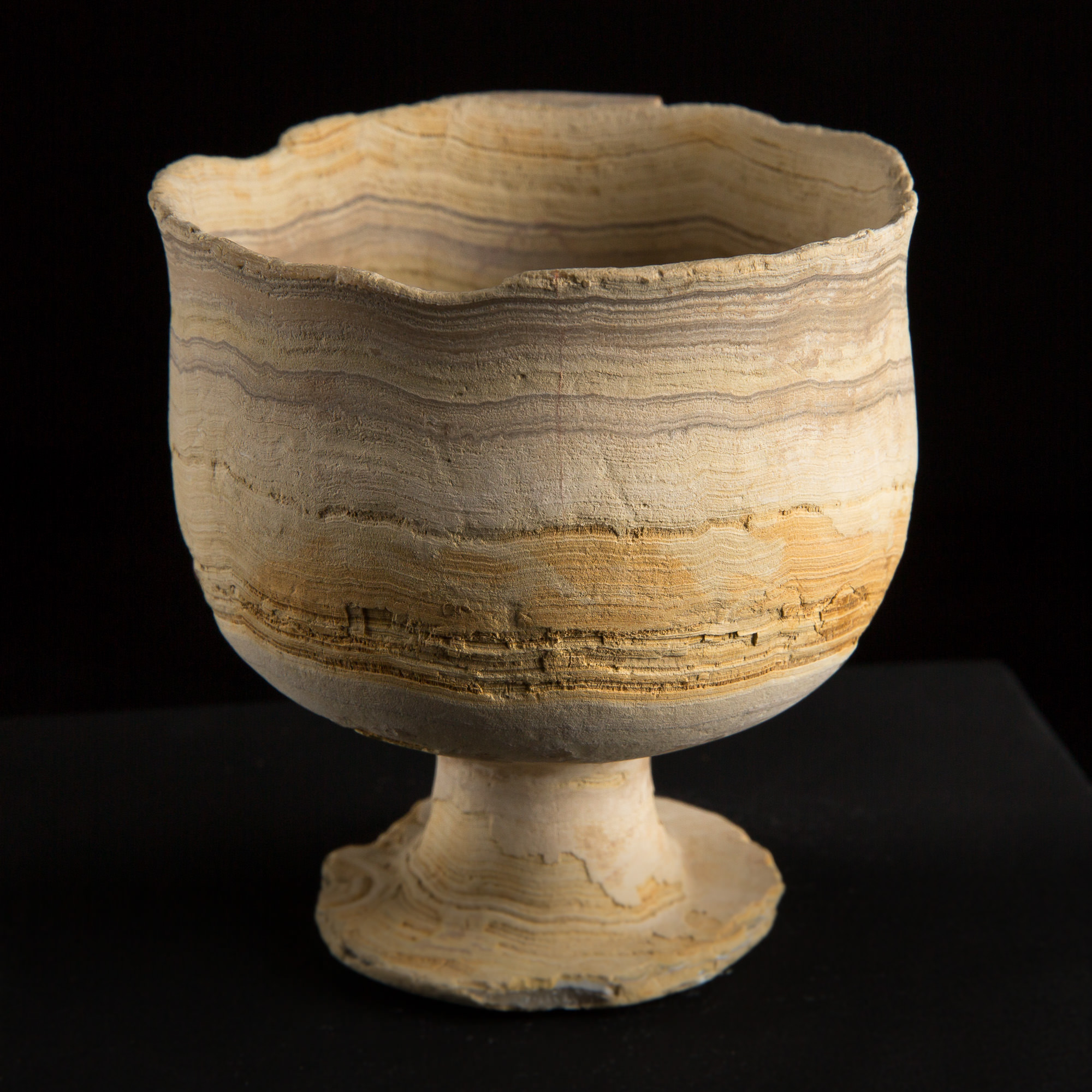 Photo of museum-bactria-ancient-civilisation-chalice-in-alabaster