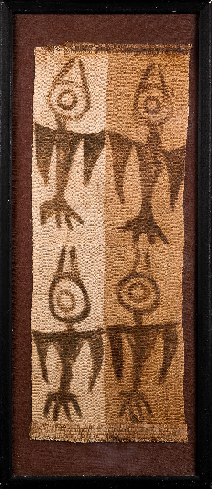 Photo of peru-chancay-fabric-birds-peruvian-weave-perou-culture-chancay-tissus-peint-motifs-oiseaux