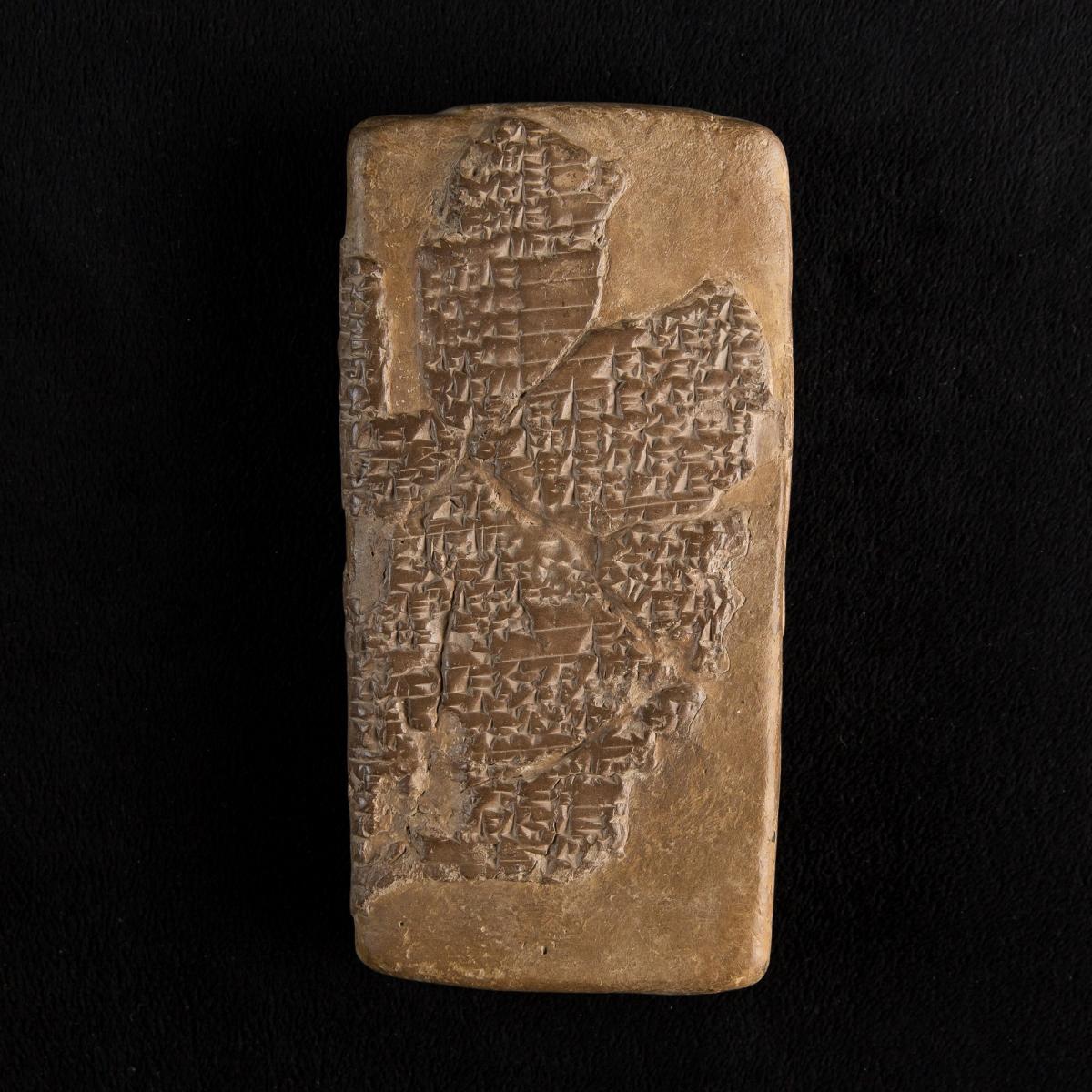 Photo of cuneiform-tablet