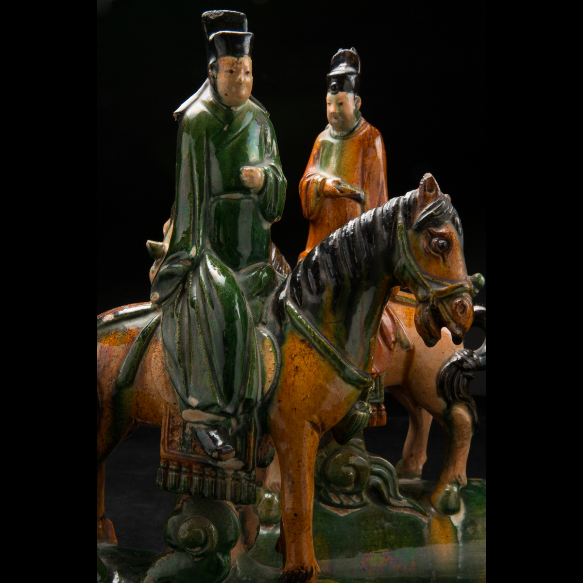 Photo of a-pair-of-excellent-tiles-with-horses