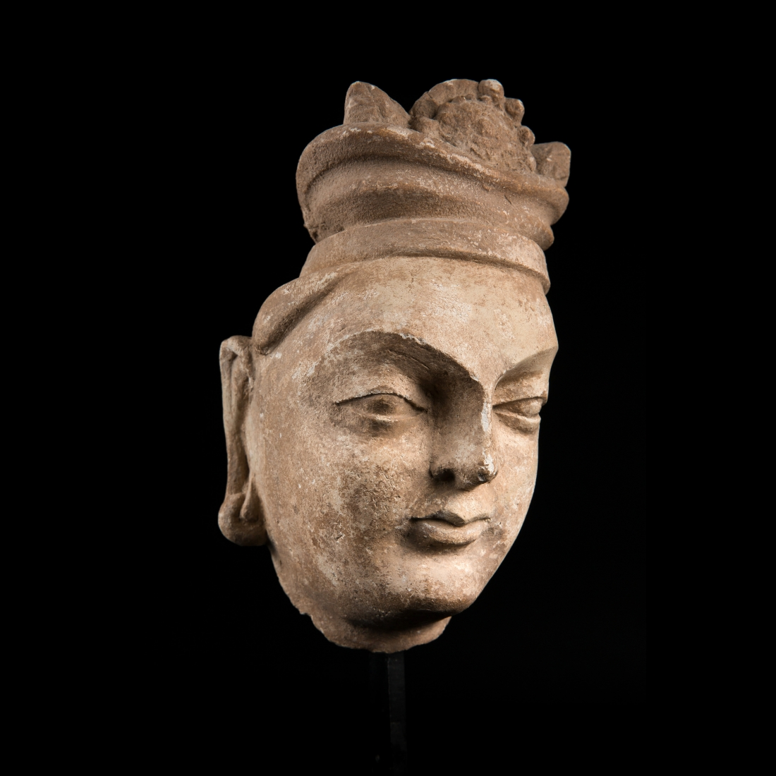 Photo of gandhara-head-of-a-princess-in-stucco