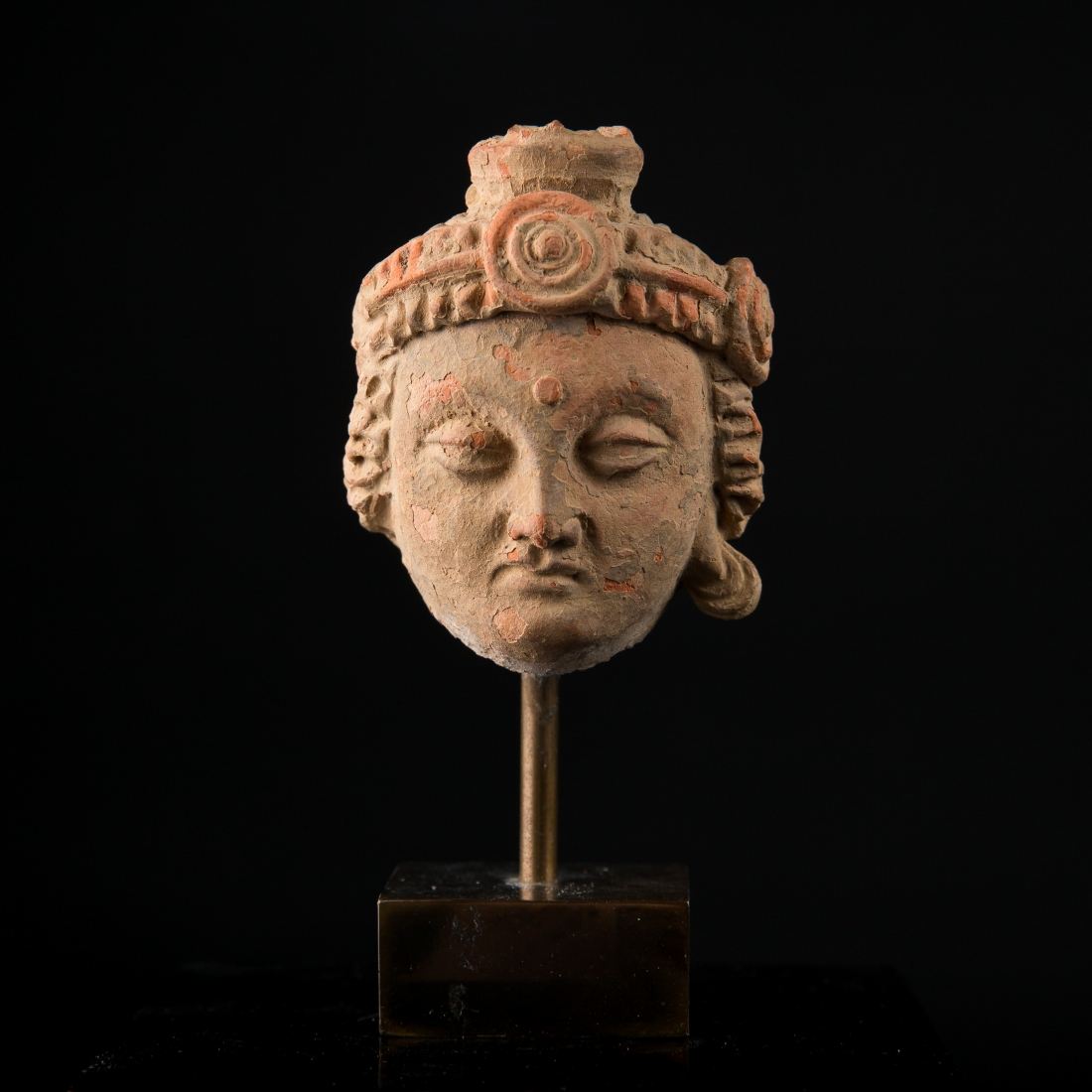 Photo of gandhara-head-of-a-princess