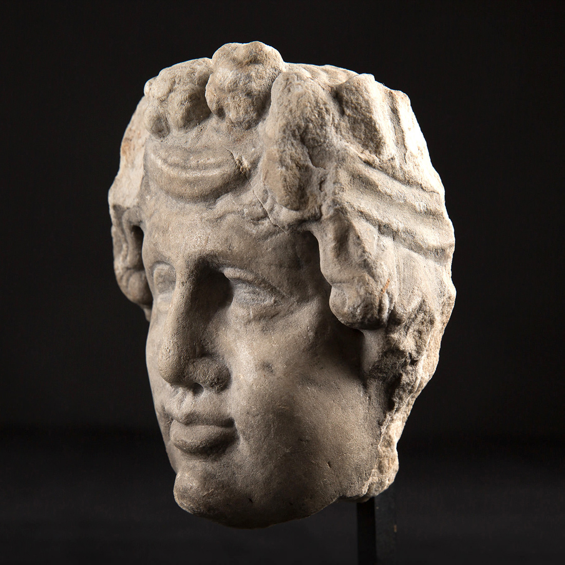 Photo of dionysus-marble-head-greece-antiquities-ancient-art