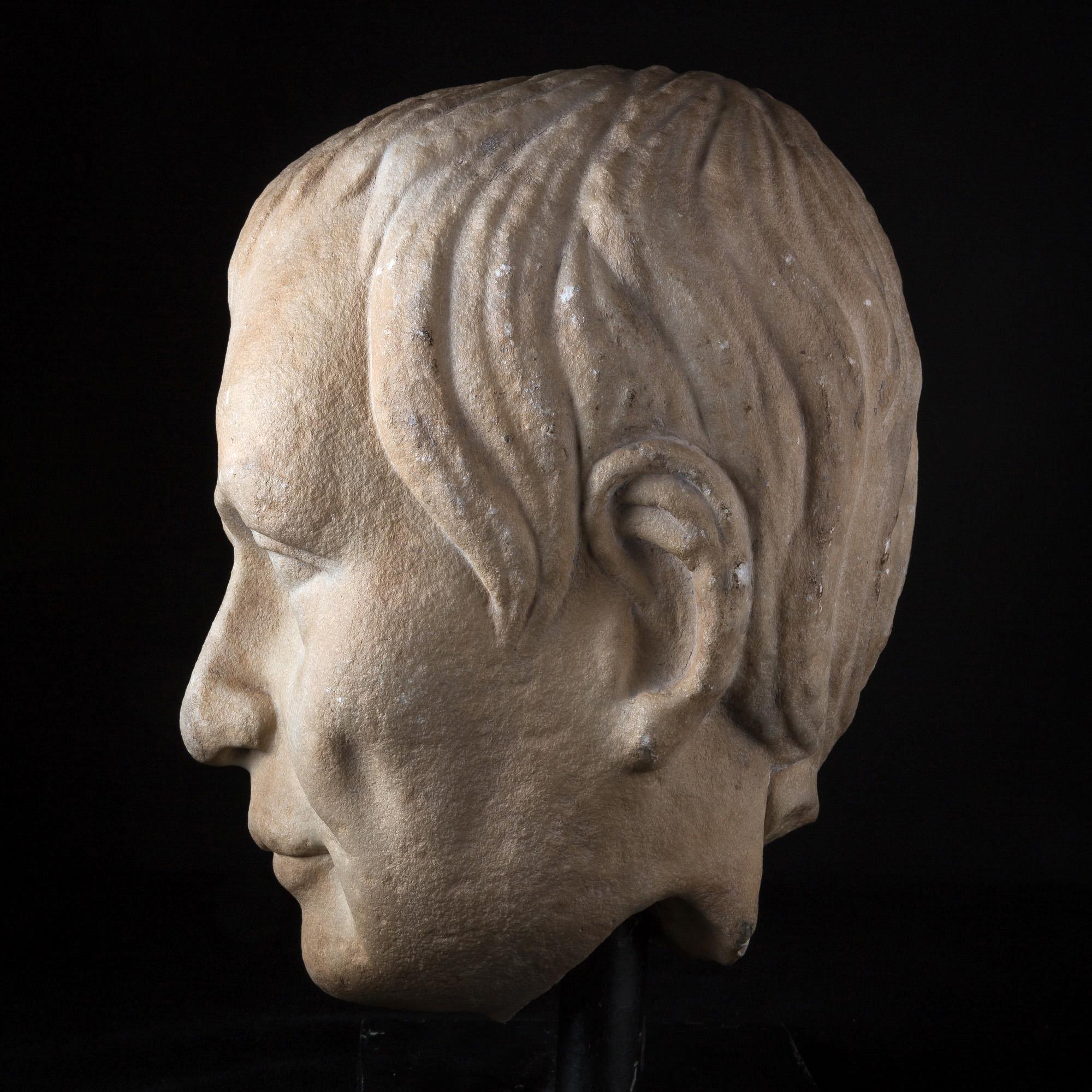 Photo of MONUMENTAL PORTRAIT OF SENATOR CASSIUS (85-42 BC)