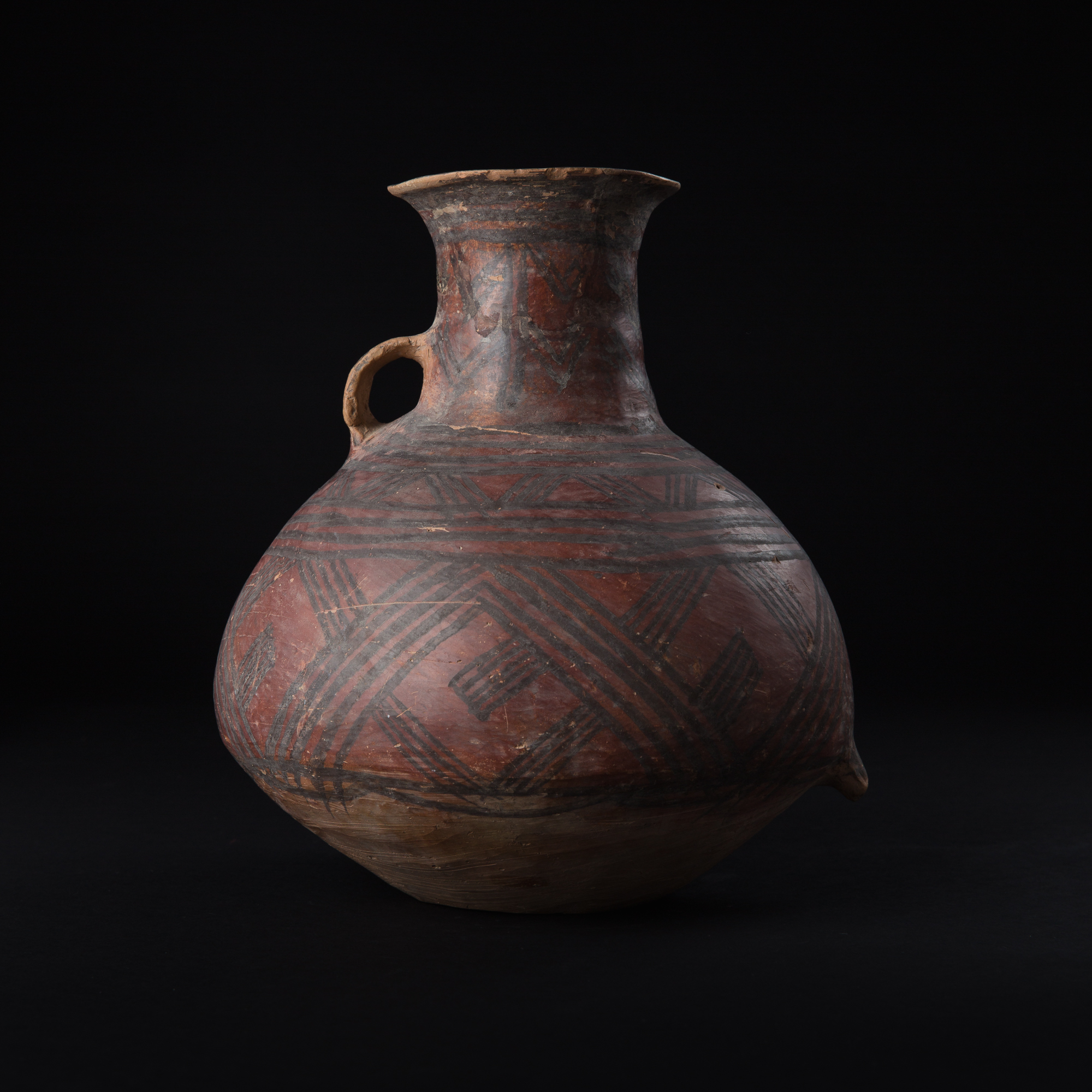 Photo ofCHINESE NEOLITHIC MACHIAYAO MACHANG WARE URN
