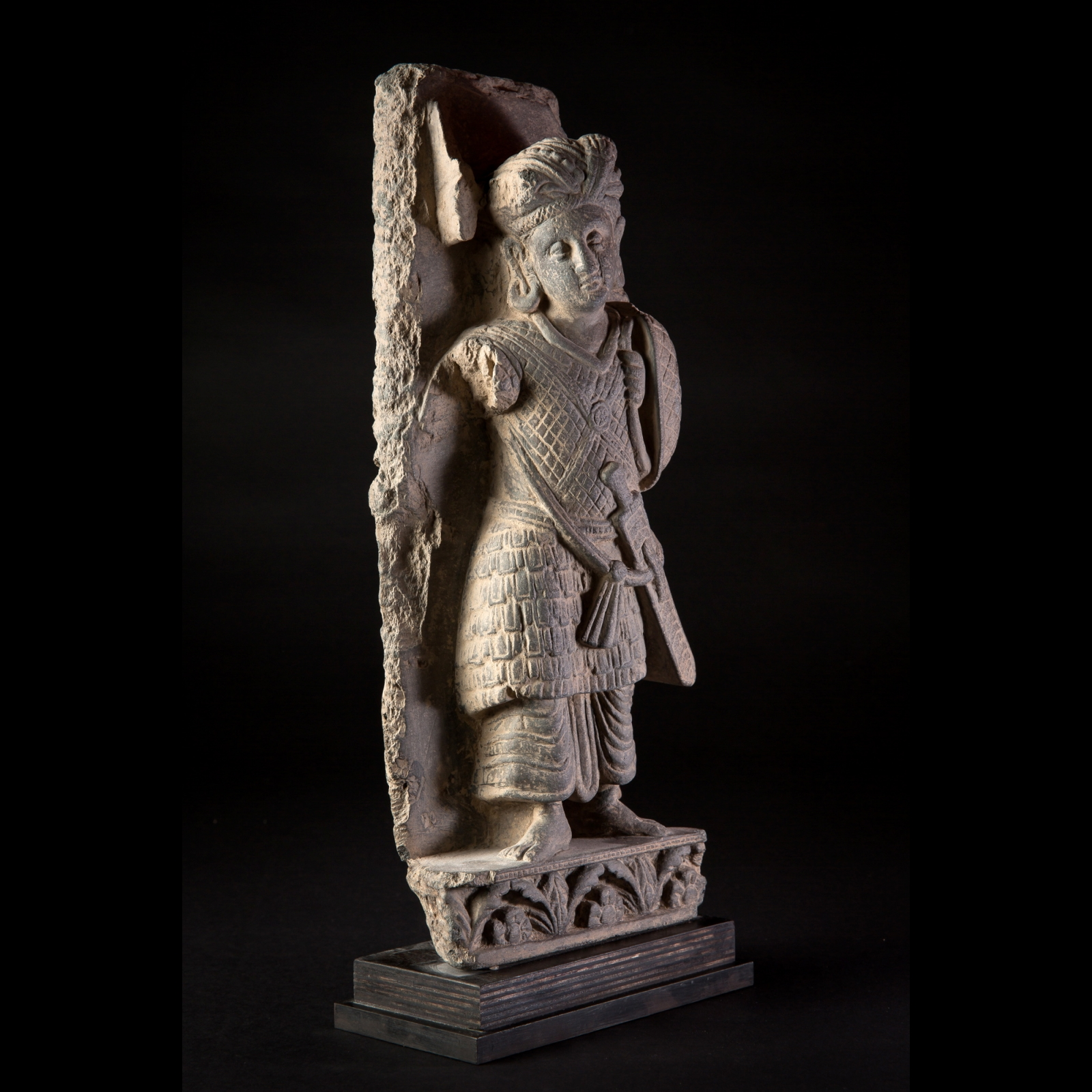 Photo of EXCELLENT KOUSHAN WARRIOR FROM GANDHARA