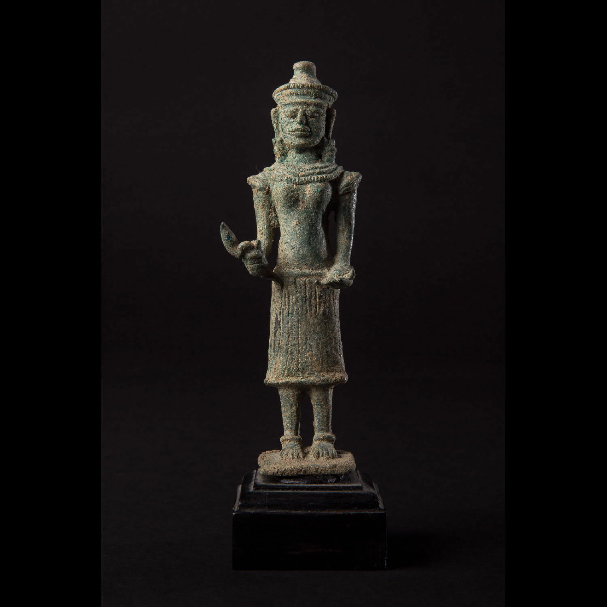 Photo ofKHMER BRONZE OF GODDESS UMA