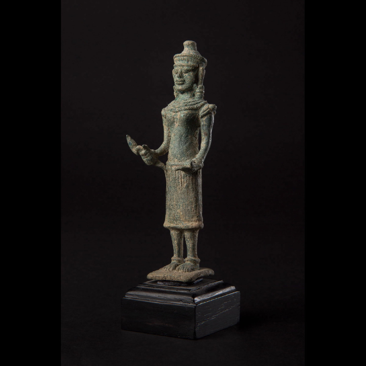 Photo of KHMER BRONZE OF GODDESS UMA