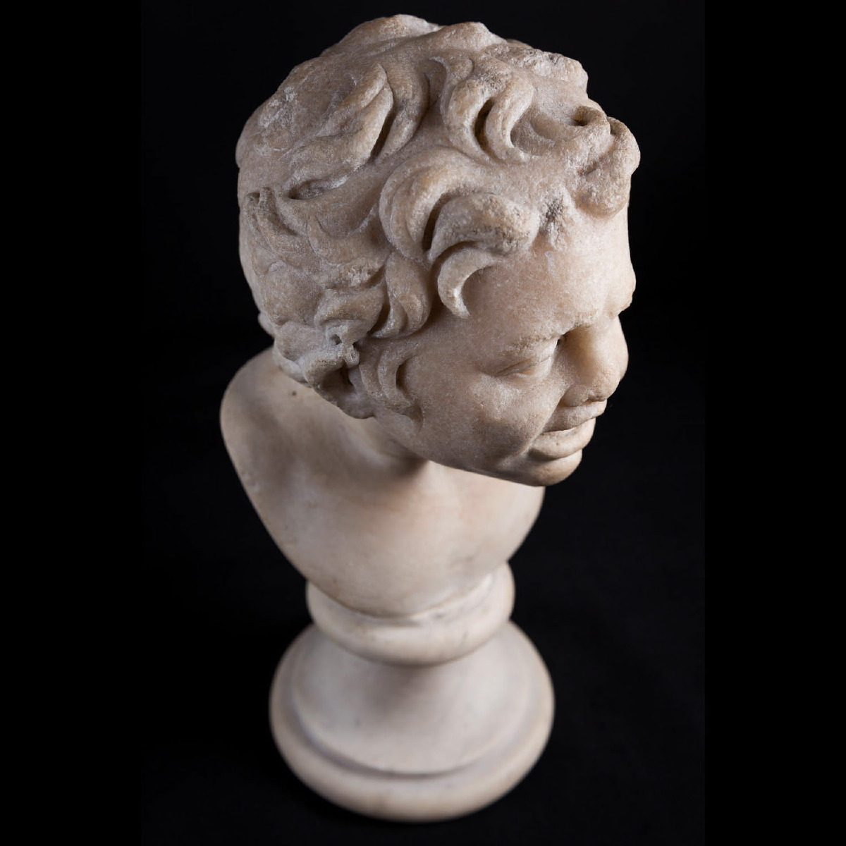 Photo of ROMAN MARBLE HEAD OF A SATYR