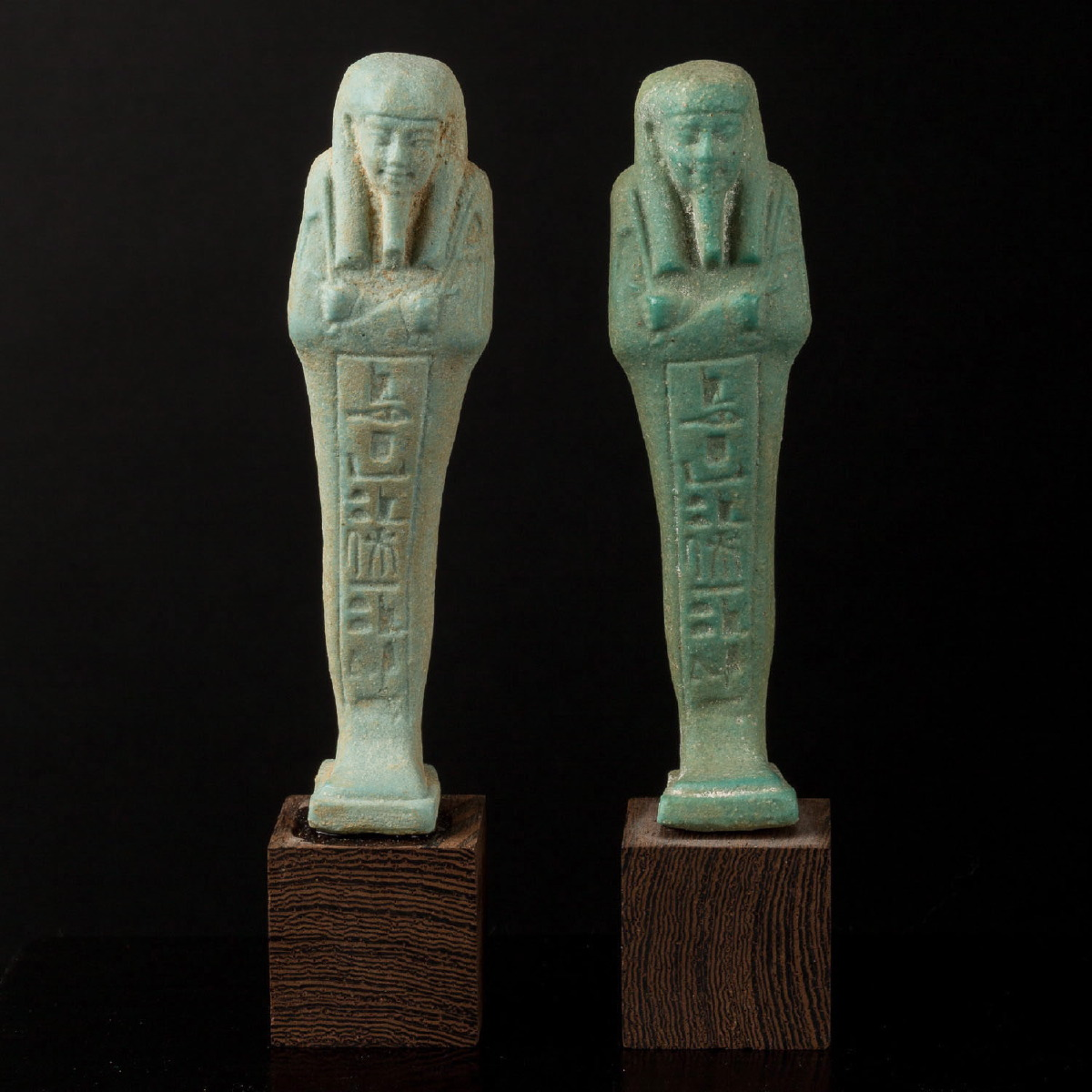 Photo ofPAIR OF USHABTI IN FRITT