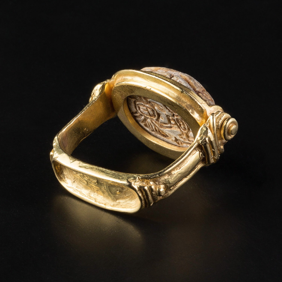 Photo of RING WITH EGYTIAN SCARAB