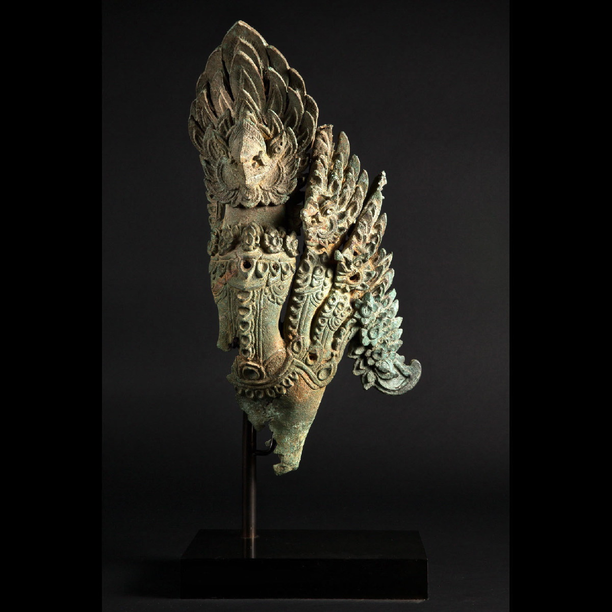 Photo of MAJESTIC KHMER BRONZE GARUDA