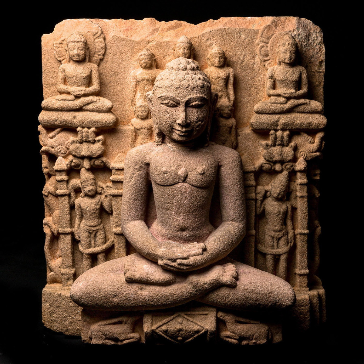 Photo of INDIAN JAIN SHANTINATHA STELE