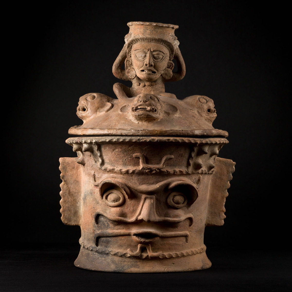 Photo ofFUNERAL MAYAN CENSER FROM KAMINALJUYU